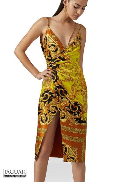 Versace dress barocco femme