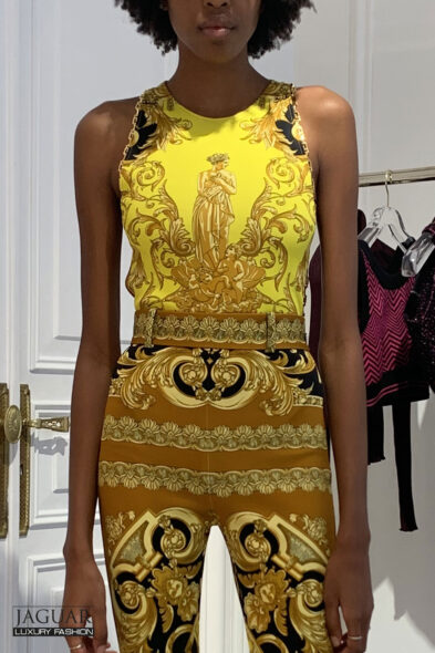 Versace body print