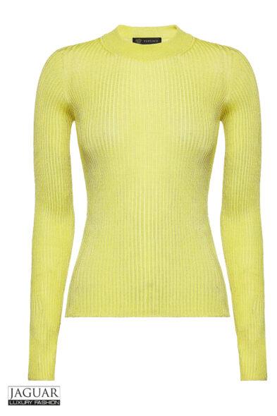 Versace knit pull yellow