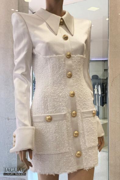 Balmain dress white