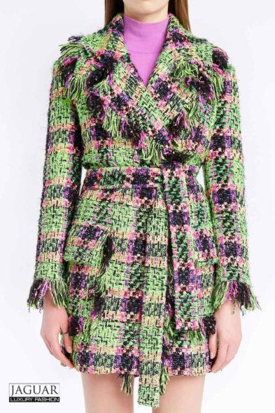 Blumarine boucle jacket