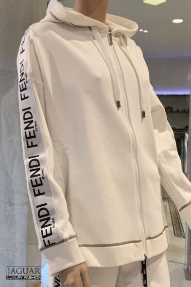 Fendi hoodie white