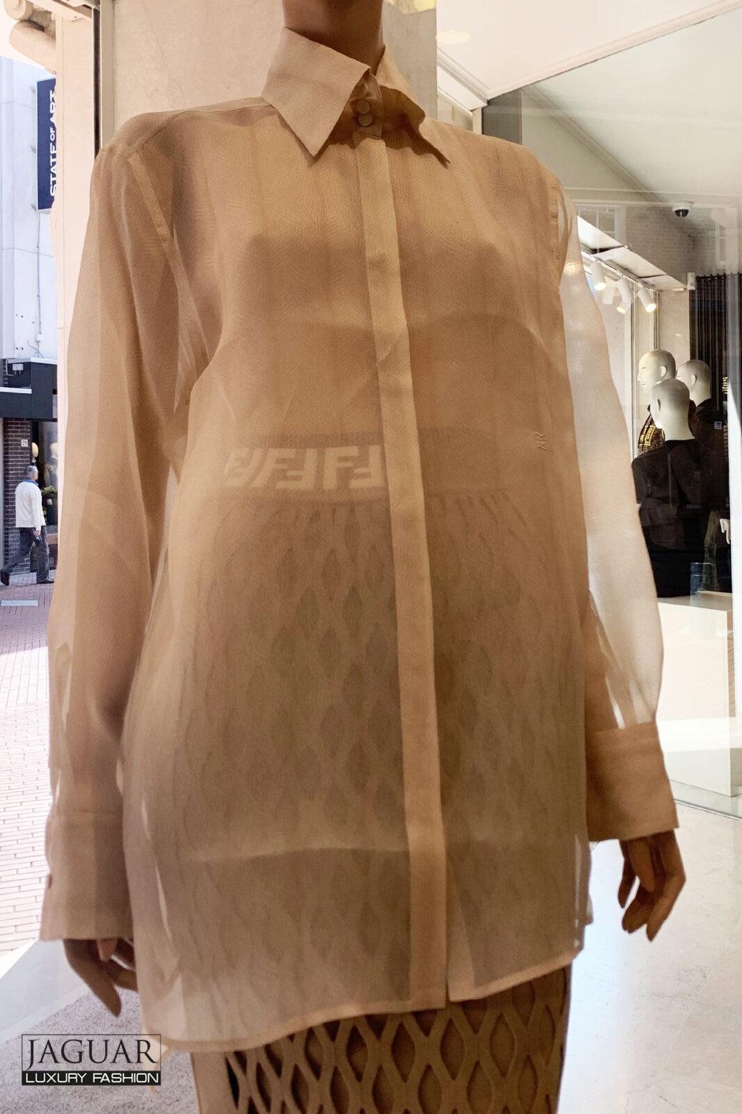 Fendi organza shirt