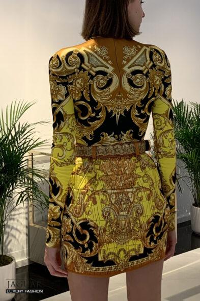 Versace skirt barocco femme