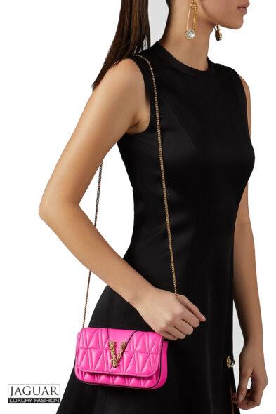 Versace fuxia bag