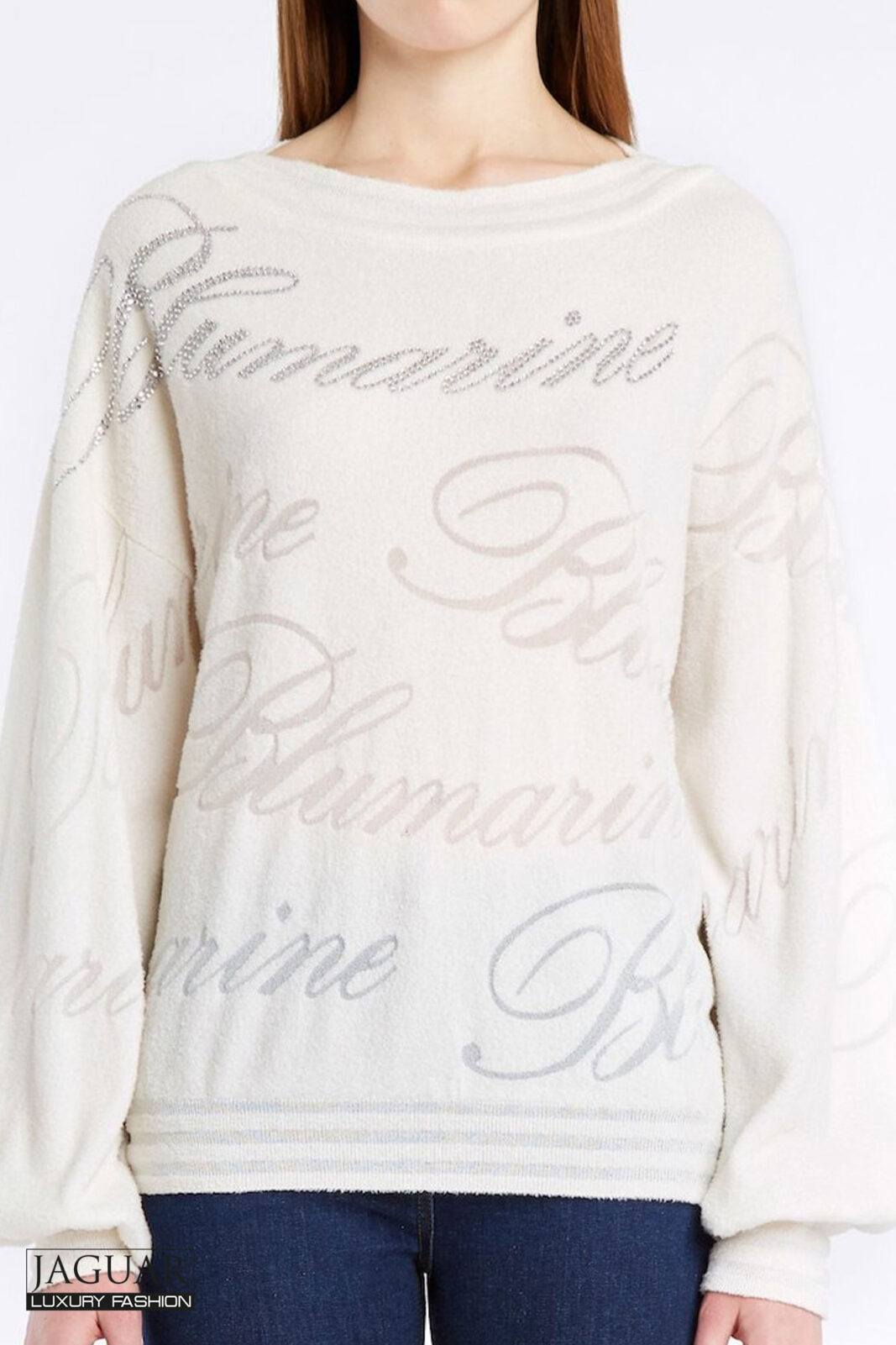 Blumarine sweater cream