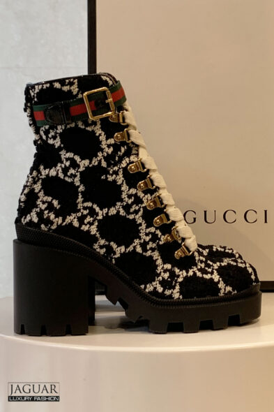 Gucci boucle boots