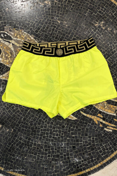 Versace swim trouser yellow