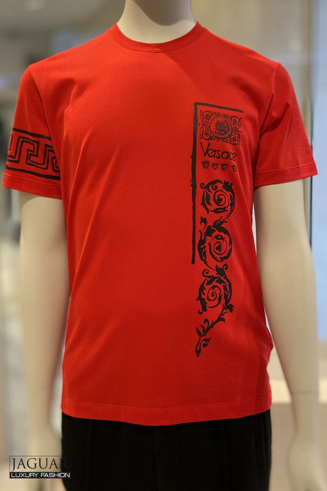 Versace t-shirt rood