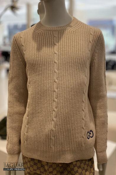 Gucci knit pull beige