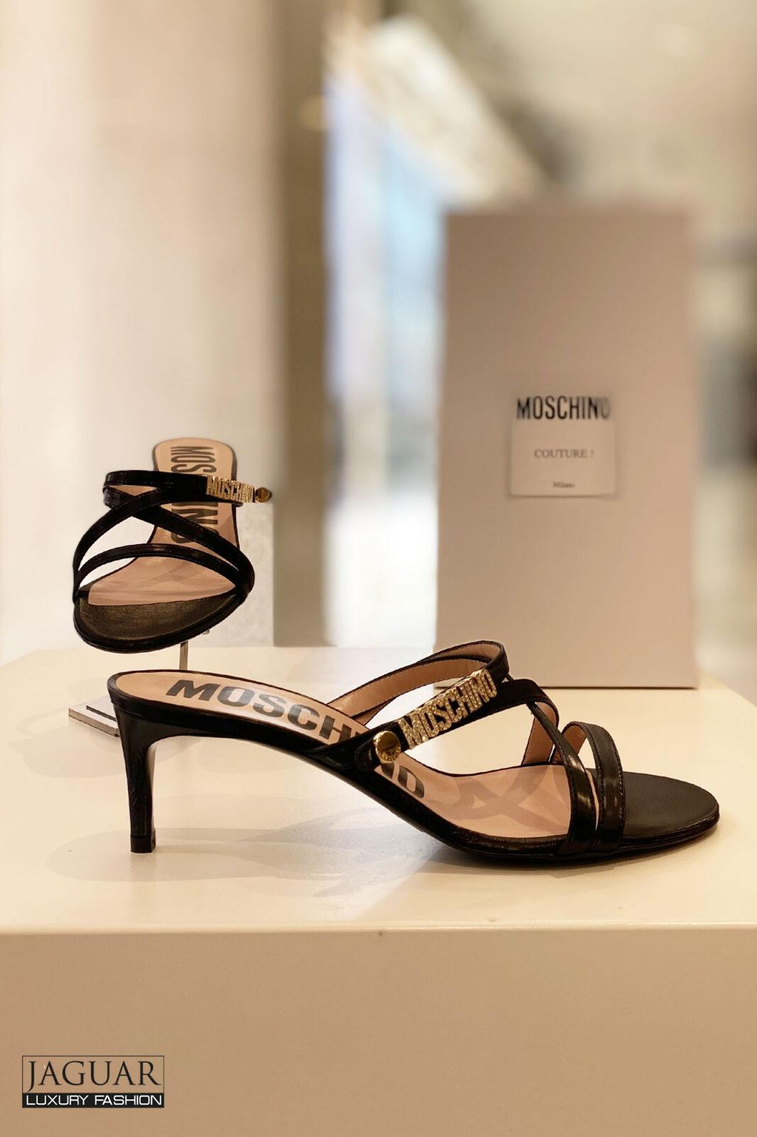 Moschino Sandal zwart