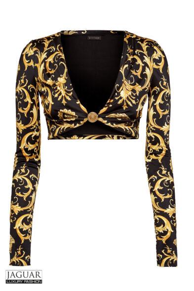 Versace crop top