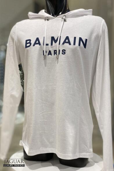 Balmain hooded t-shirt