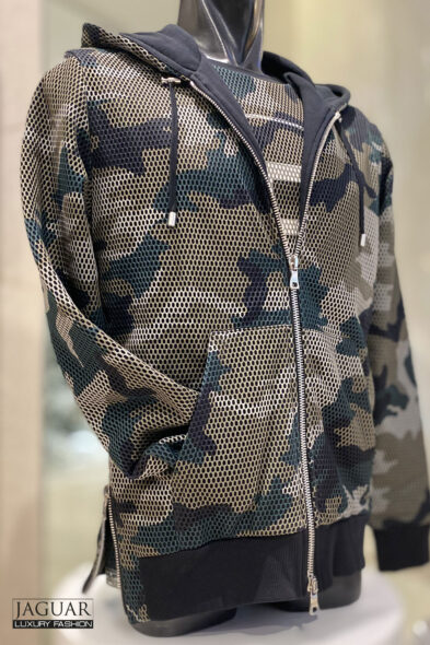Balmain hoodie camo