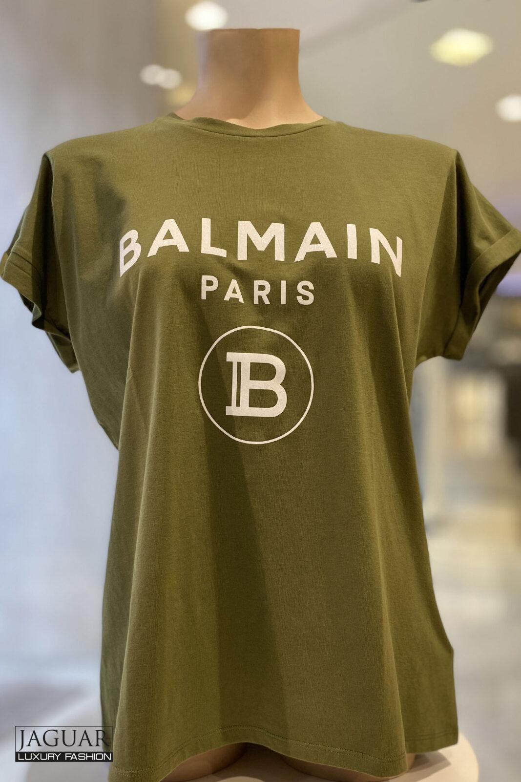 Balmain t-shirt green