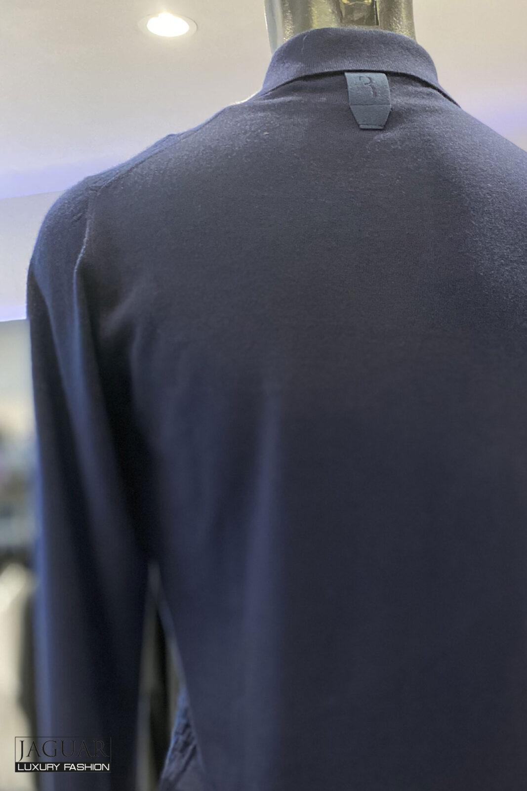Billionaire knit pull blue