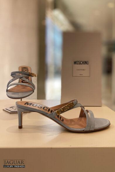 Moschino sandal blauw