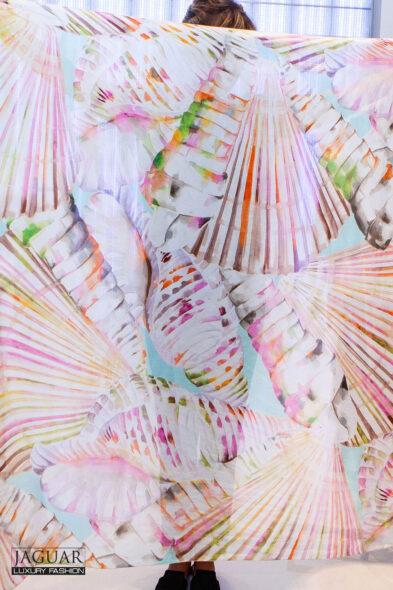Blumarine scarf multicolor