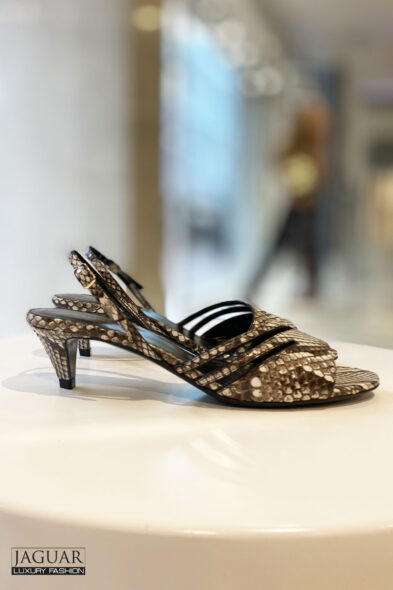 Celine sandal python