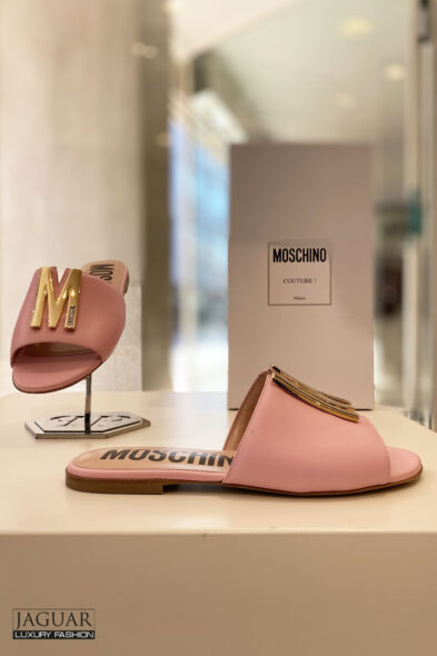 Moschino M sandal pink