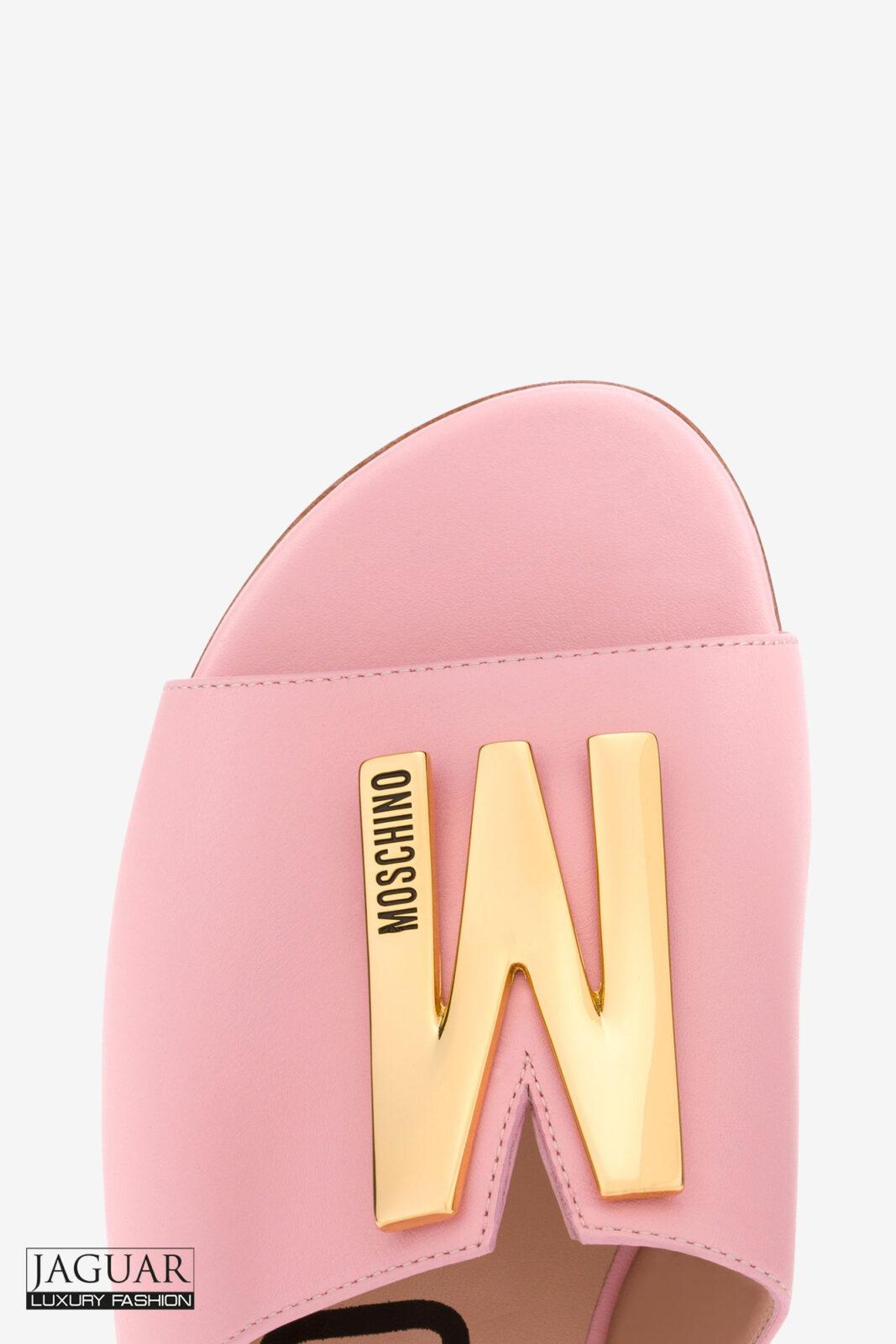 Moschino sandal pink