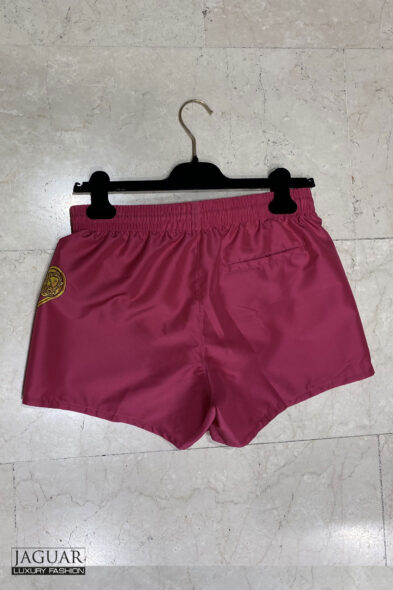 Versace swim short safety pin
