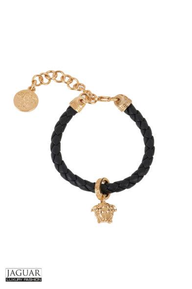 Versace bracelet black