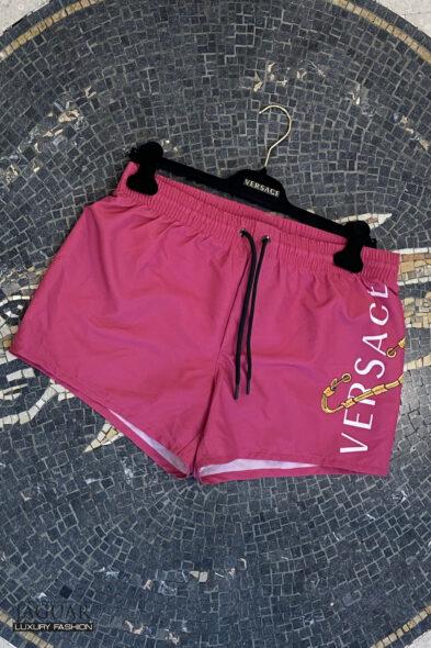Versace swim short fuxia