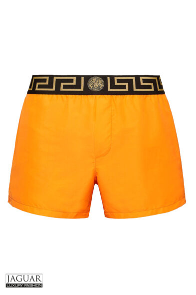 Versace swim short orange