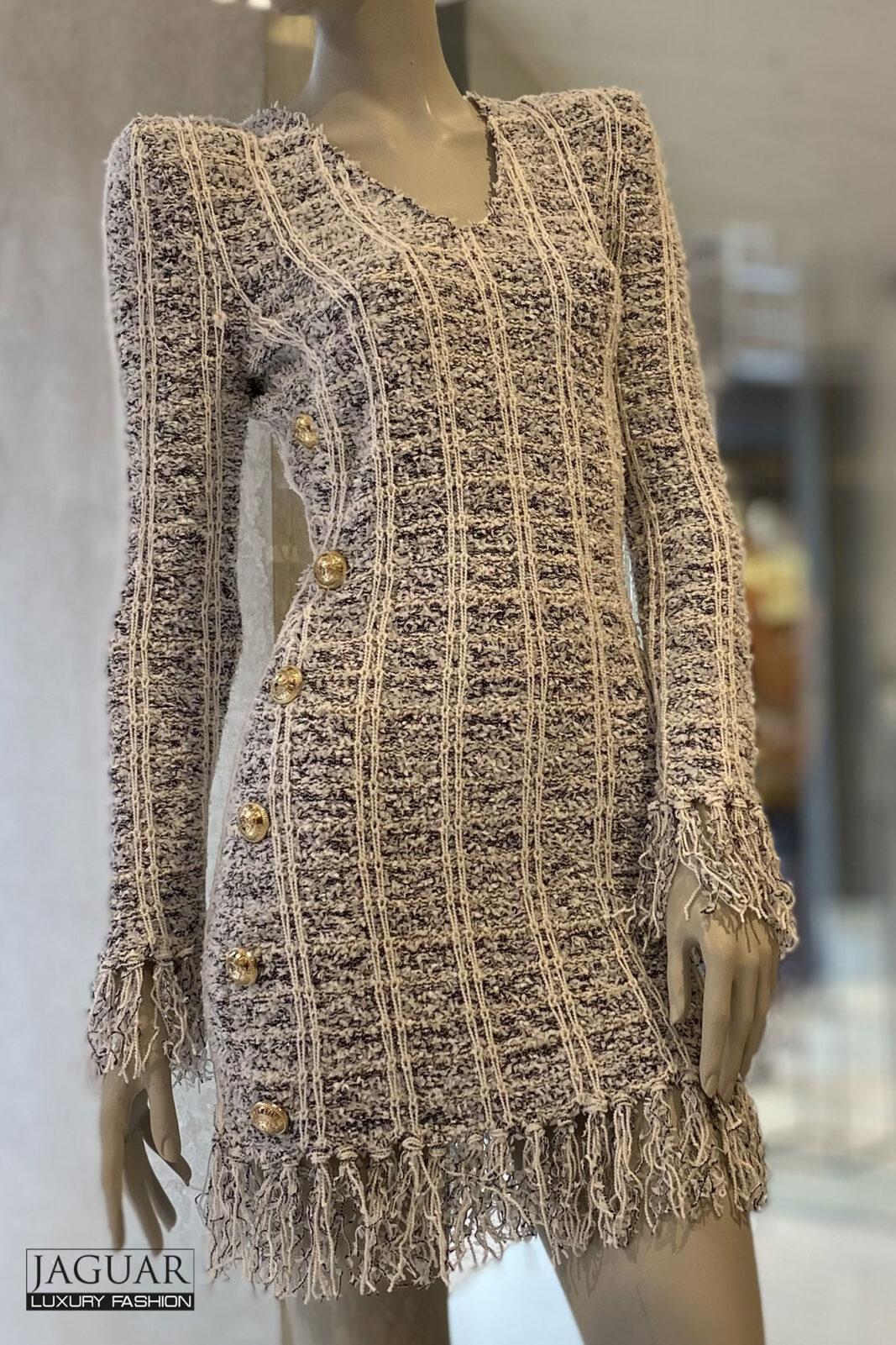 Balmain boucle dress