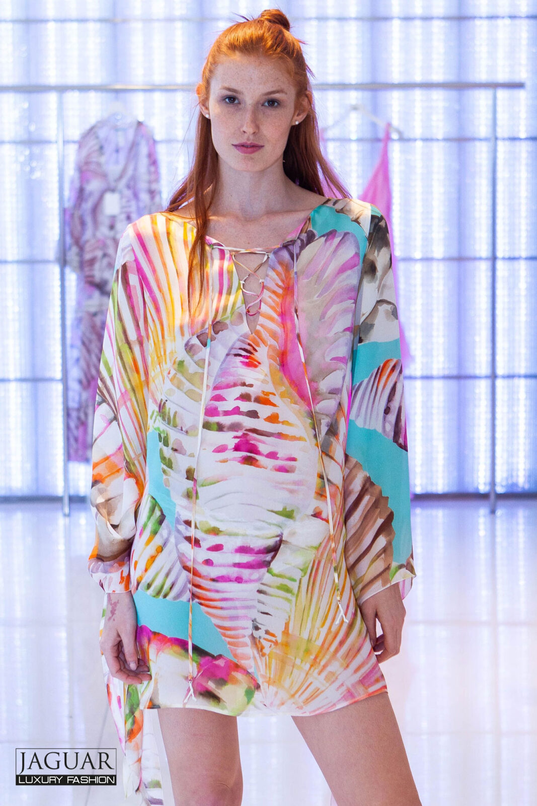 Blumarine caftan dress