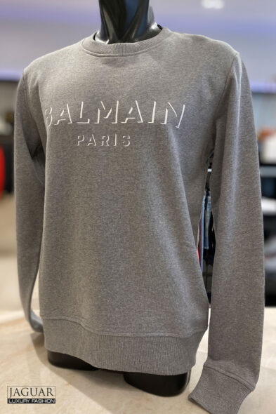 Balmain sweater grey