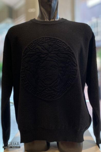 Versace black Medusa