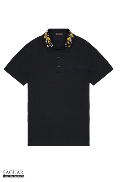 ACANTHUS COLLAR POLO SHIRT