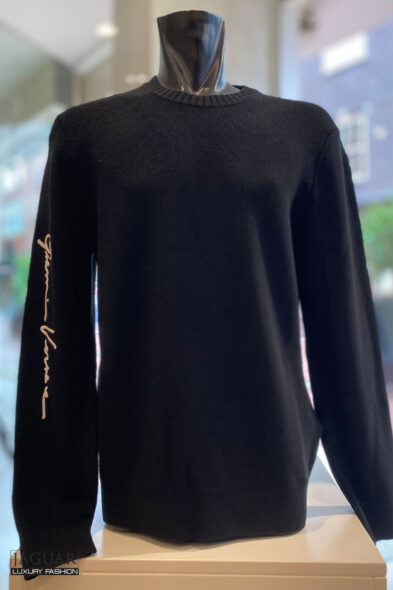 Versace knit pull black