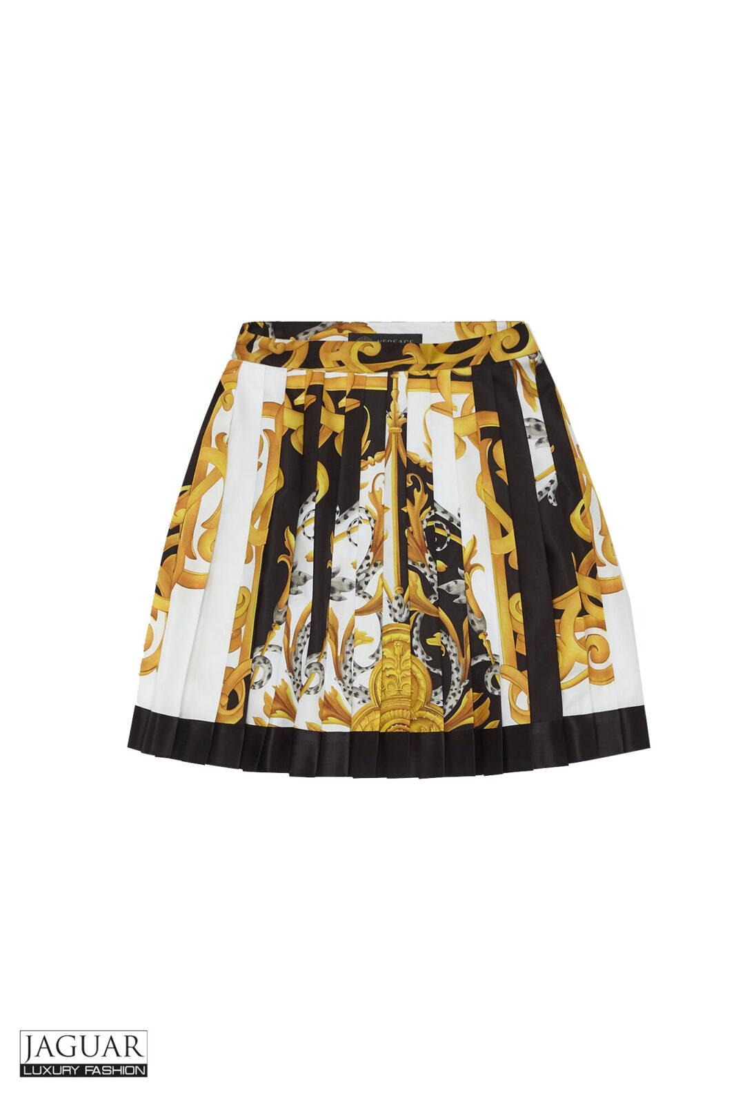 Versace skirt silk