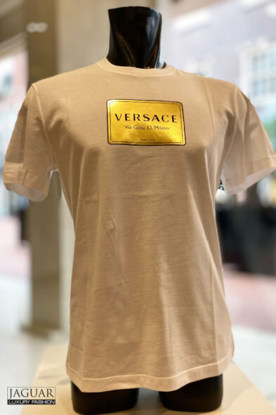 Versace t-shirt white address