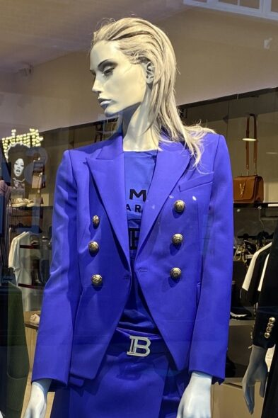 Balmain t-shirt blue