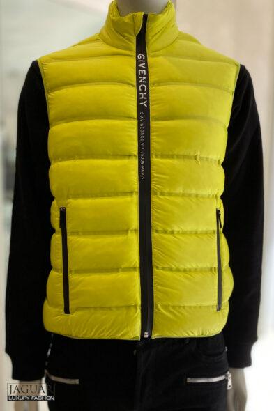 Givenchy bodywarmer yellow