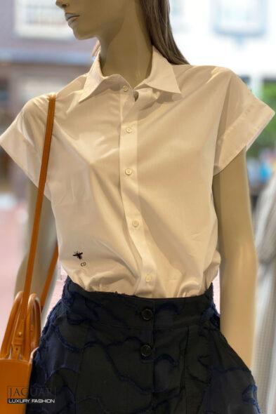 Dior blouse white