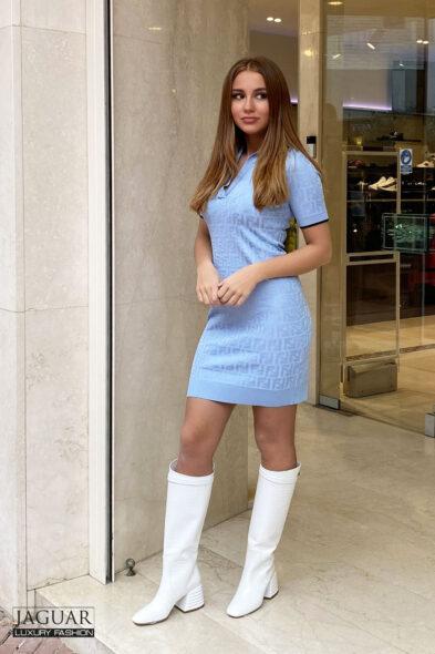Fendi dress blue