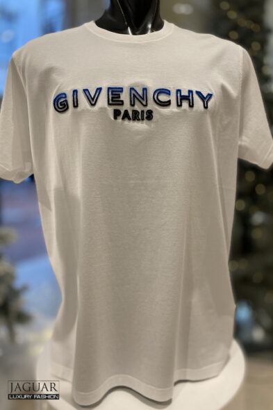 Givenchy t-shirt white blue