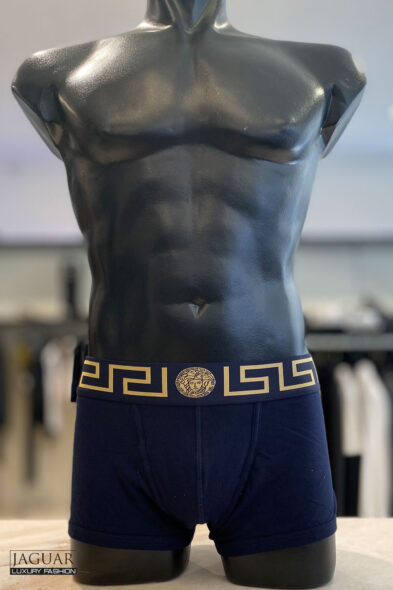 Versace trunk blue