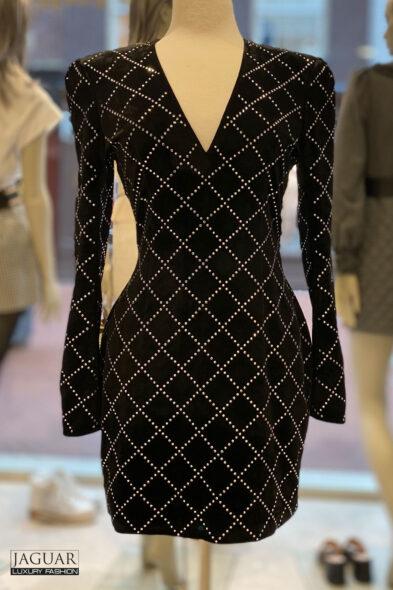 Balmain dress velvet