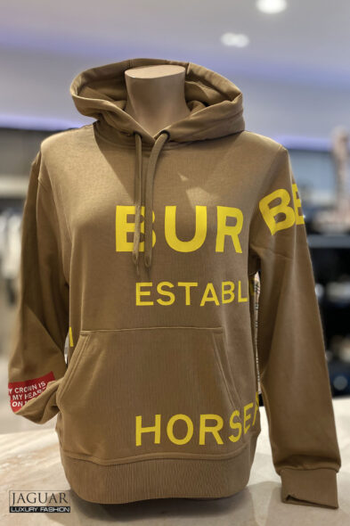 Burberry hoodie beige