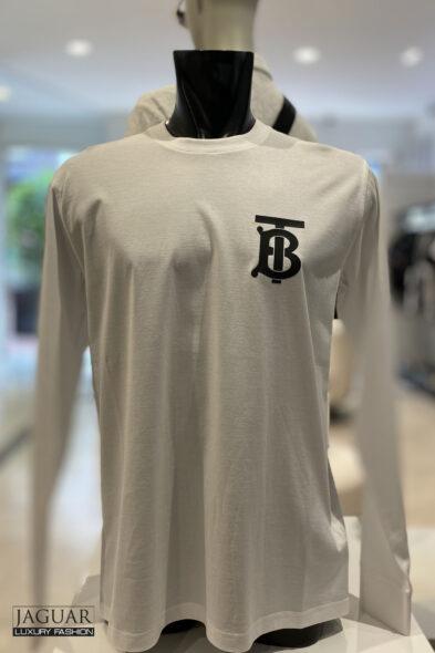 Burberry monogram logo t-shirt white