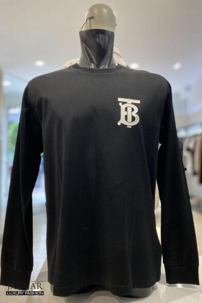 Burberry monogram t-shirt black