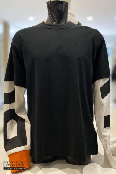 Burberry sweater sleeve logo