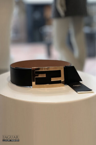Fendi belt black