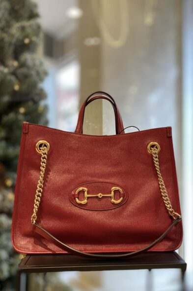 Gucci horsebit red